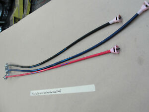 Oem 1975 75 Cadillac Sedan Deville Power Bench Seat Long Cables set Of 3
