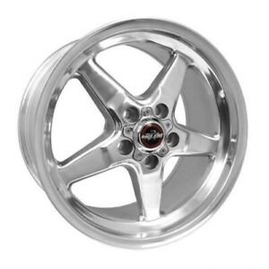 Race Star 92 795153dp Wheel 17x9 5 92 Drag Star For Ford Polished