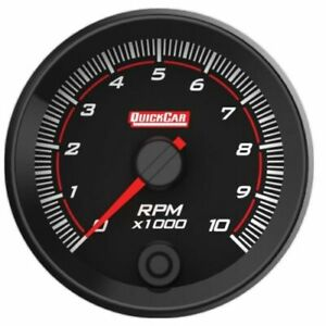 Quickcar Racing Products 69 001 2 5 8 Redline Single recall Tachometer