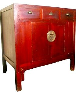 Antique Chinese Ming Cabinet Sideboard 2641 Circa 1800 1849