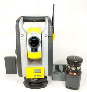 Trimble Rts 773 Vision Robotic Total Station Kit With Mt1000 Active Prism Cal
