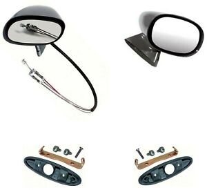 Oer L H Remote Bullet And R H Bullet Mirror Set With Mounting Hardware