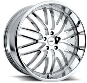 20x8 5 10 Tsw Snetterton 5x112 35 42 Chrome Wheels New Set 4