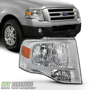 2007 2014 Ford Expedition Headlight Factory Style Headlamp 07 14 Passenger Side