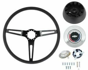 Oer 3 spoke Comfort Grip Steering Wheel Kit 1969 72 Camaro Nova Impala Chevelle