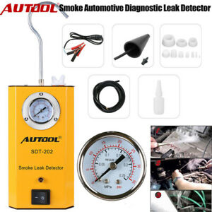 Autool Sdt202 Smoke Machine Diagnostic Emissions Vacuum Leak Detection Tester Us