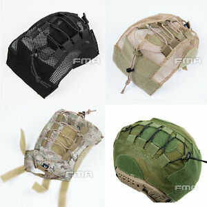 FMA Durable Tactical Airsoft FAST Helmet Cover For Fast Helmet BKDEMulticam