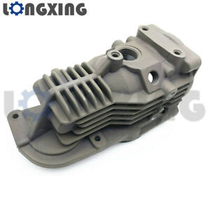 Air Suspension Shock Compressor Pump Cylinder Head Cover For Bmw X5 E61 Touring