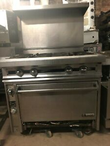 4 Burner Heavy Duty Stove 40 000 Btu Per Burner With Convection Made By Jade