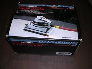 New Craftsman Orbital Sander 918827 Air Drive
