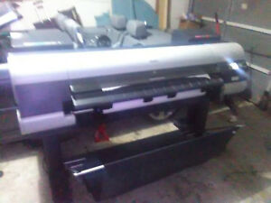 Canon Imageprograf Ipf8100 44 Large Format Printer Shows 03130031 2f3a Error