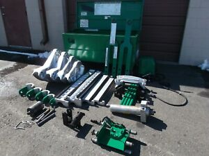 Greenlee 881ct 881 Ct Cam Track One Shot Bender 1813 Table 980 Hydraulic Pump Vg