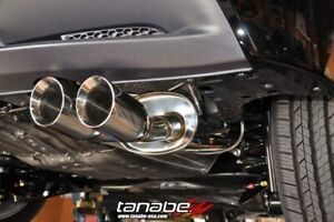 Tanabe Medalion Touring Axleback Exhaust For 2010 2015 Honda Cr z Zf1