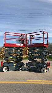 Skyjack 3219 Electric Scissor Lift Manlift refurbished Warranty Dealer