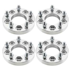 4pc 1 Thick 5x4 5 To 5x4 75 12x1 5 Stud Wheel Spacers Adapter For Jeep Toyota