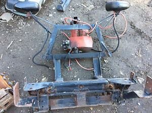 Western Snow Plow Mount And Hydraulic Pump M Local Pick Up Only