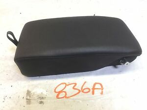 08 13 Cadillac Cts Rear Seat Arm Rest Armrest W Cup Holder Oem D J 836a