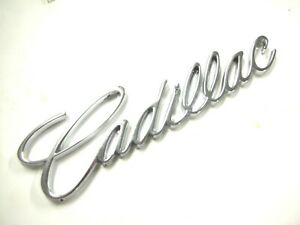 New Cadillac Chrome Emblem Badge Cts Catera Escalade Eldorado Deville Seville