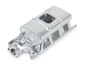 Holley Sniper 827011 Sb Ford Sheet Metal Fabricated Intake Manifold Sbf 289 302