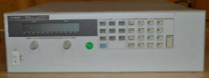 Hp Agilent 6655a Dc Power Supply 120v 4a 480w Programmable Tested Good