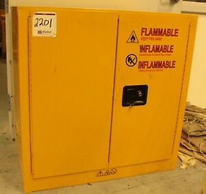 4 Storage Cabinets for Flamable Materias Various Sizes