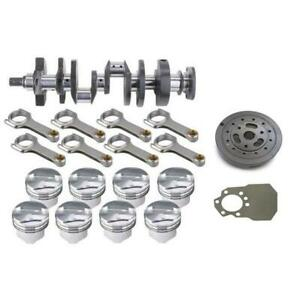 Premium Sb Chevy Rotating Assembly 400 150 Dome 6 In Rods
