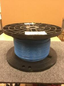 Belden 9463 Blue Hose 20 Awg 1 Pair Shielded 300v Twinax Cable 450 Spool