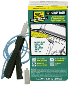 15 Board Foot Polyurethane 2 component Spray Foam Kit Just Point And Spray