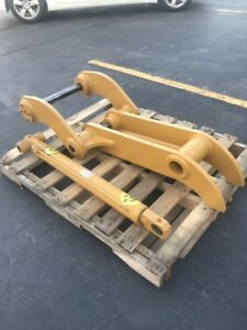 New Direct Link 10 X 48 Hydraulic Thumb For Caterpillar 420e Backhoes