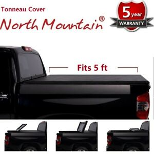 Black Soft Roll Up Tonneau Cover Assembly Fit 16 19 Tacoma 5 Fleetside Bed