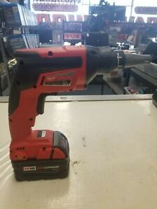 Milwaukee 2866 20 M18 Fuel Brushless Screw Gun With Charger And Battery