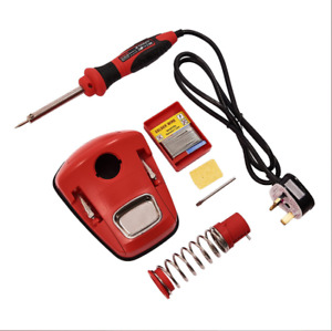 30w Temperature Soldering Station Iron Electronic W sparetip Solder Wire