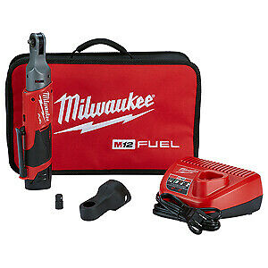 Milwaukee Electric 2556 22 M12 Fuel 1 4 Ratchet With 2 Battery Kit