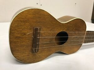 Early 1900s Ukulele Luthier Made Signed And Interesting