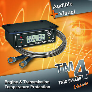 Tm4 Twin Engine Transmission Temperature Warning Alarm Suits All Vehicles