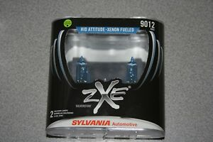 Sylvania Silverstar Zxe 9012 Pair Set High Performance Headlight 2 Bulbs New