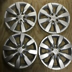 Set Of 4 2014 15 2016 Toyota Corolla 16 Wheel Covers Oem Hubcaps Factory