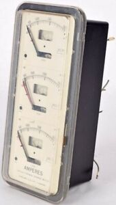 Sangamo Electrical Co Lincoln Advf 15 Thermal Demand Vertical Meter 79087