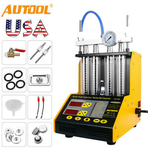 Autool Ct150 Ultrasonic Fuel Injector Cleaner And Tester For Car Motorcycle Van