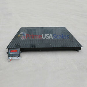 5 Year Warranty 5 000 Lb 4x4 Pallet Floor Scale Warehouse Ntep Legal 4 Trade