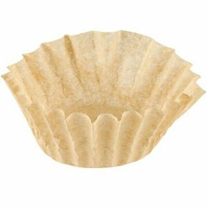 9 3 4 X 4 1 2 Unbleached Natural Coffee Filter 12 Cup 1000 case
