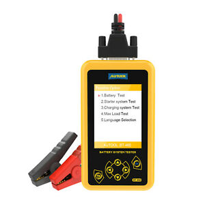 Autool Bt460 Car Battery Tester Charging System Analyzer For 12v Cars 24v Truck