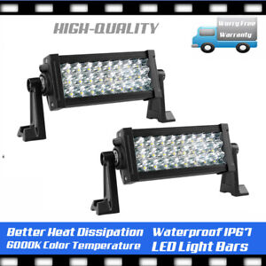 6 5 Inch Off Road 270w Cree Led Fog Lamp Work Light Bar For Suv Jeep Drl Reverse