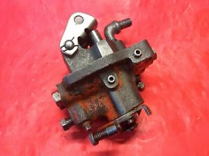 Allis Chalmers B C Tractor Hydraulic Pump Cleaned And Inspected