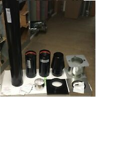 Garage Heater Venting Kit Stainless Steel 4 Out The Wall Full Kit Reznor