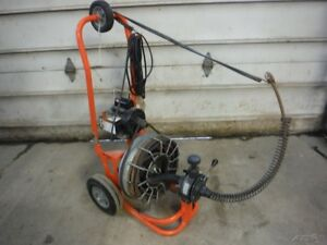 General Metro Rooter Electric Power Drain Pipe Cleaner Sewer Snake