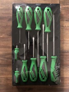 Matco Tools 10 Piece Top Torque Ii Screwdriver Set Green Sspcg10c