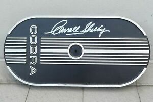 Carroll Shelby Signed Air Cleaner Ford Performance Racing