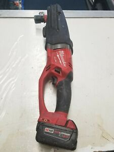 Milwaukee 2711 20 M18 Fuel Super Hawg Right Angle Drill 5 0 Battery