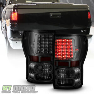 For 2007 2013 Toyota Tundra Pickup Led Brake Tail Lights Lamps Left Right 07 13